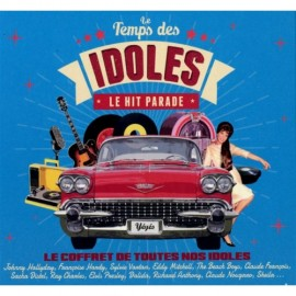 VARIOUS : CDx4 Le Temps Des Idoles - Le Hit Parade