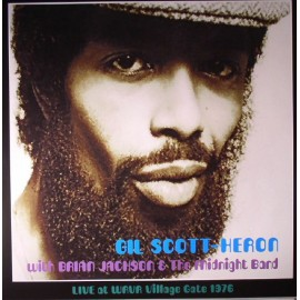 SCOTT-HERON Gil : LP Live at WRVR Village Gate, NYC 1976