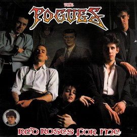 POGUES (the) : LP Red Roses For Me