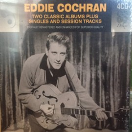 EDDIE COCHRAN : CDx4 Two Classic Album Plus Singles And Session Tracks