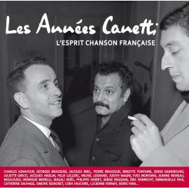 VARIOUS : LPx2 + CDx2 Les Années Canetti - L'esprit chanson française