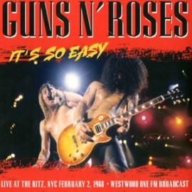 GUNS N' ROSES : LP Live New York City February 2, 1988