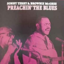 TERRY Sonny & MC GHEE Brownie : LP Preachin The Blues