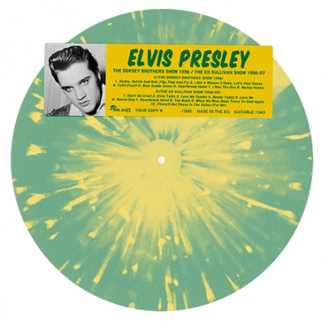 PRESLEY Elvis : LP The Dorsey Brothers Show / The Ed Sullivan Show
