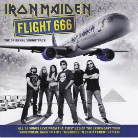 IRON MAIDEN : CDx2 OST Flight 666