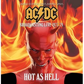 AC/DC : LP Hot As Hell - Broadcasting Live 1977 - '79