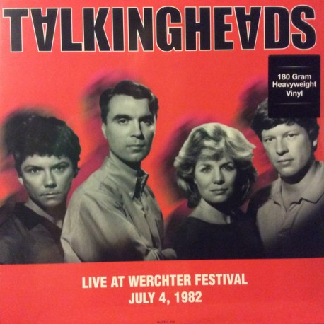 TALKING HEADS : LP Live At Werchter Festival July 4, 1982