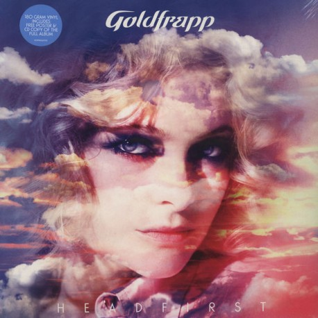 GOLDFRAPP : LP+CD Head First