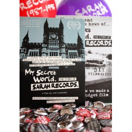 DVD MY SECRET WORLD, THE STORY OF SARAH RECORDS