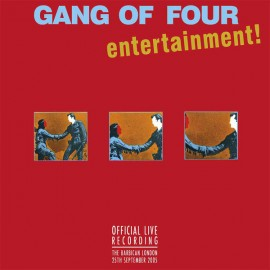 GANG OF FOUR : LPx2 Official Live Recording