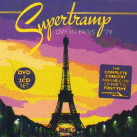 SUPERTRAMP : CDx2+DVD Live In Paris '79