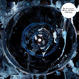 """FIREWORKS (the) : 10""""EP Black and Blue"""