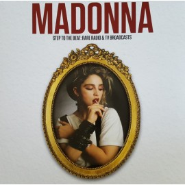 MADONNA : LP Step ToThe Beat : Rare Radio & TV Broadcasts