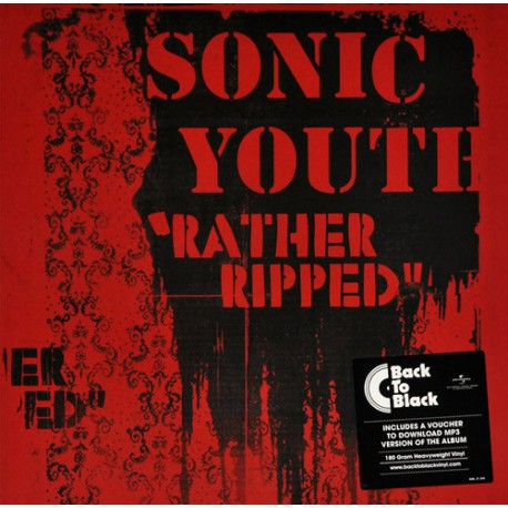 SONIC YOUTH : LP Rather Ripped
