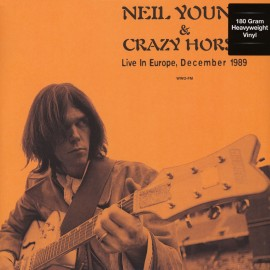 NEIL YOUNG : LP Live In Europe, December 1989