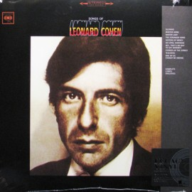COHEN Leonard : LP Songs Of Leonard Cohen