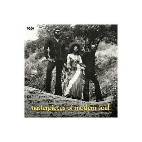 VARIOUS : LP Masterpieces Of Modern Soul