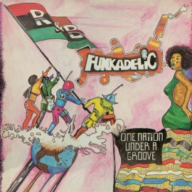 "FUNKADELIC : LP+7"" One Nation Under A Groove"