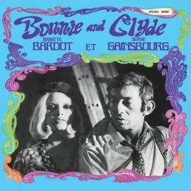 GAINSBOURG Serge et BARDOT Brigitte : LP Bonnie And Clyde