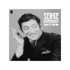 GAINSBOURG Serge : Songs On Page One