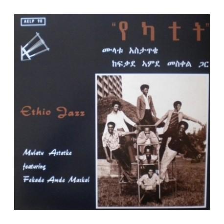 MULATU ASTATKE Featuring Fekade Amde Maskal : LP Ethio Jazz