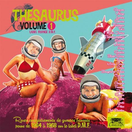 VARIOUS : LPx2 Thesaurus Vol.1 Label France D.M.F.