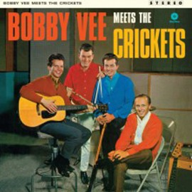 BOBBY VEE : LP Meet The Crickets