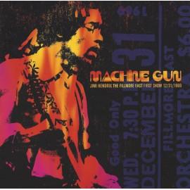 JIMI HENDRIX : LPx2 Machine Gun : The Fillmore East First Show 12/31/1969