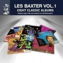 LES BAXTER'S : CDx4 Les Baxter Vol. 1 - Eight Classic Albums