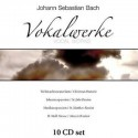 BACH Johann Sebastian : CDx10 Vocal Works