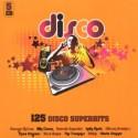 VARIOUS : CDx5 125 Hits - Disco Music