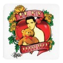 PRESLEY Elvis SOUS-VERRE Be My Teddy Bear