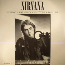 NIRVANA : LP Broadcasting Live KAOS-FM April 17th, 1987 & SNL-TV 1992