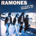 RAMONES : LP Live In New York November 14th 1977
