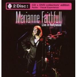FAITHFULL Marianne : CD+DVD Live In Hollywood