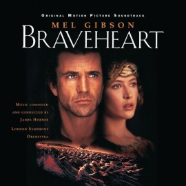 HORNER James : LPx2 Braveheart