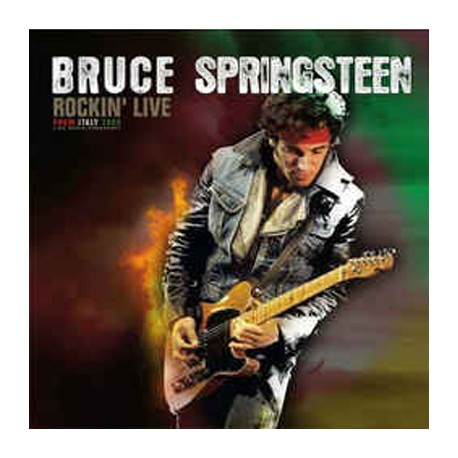 SPRINGSTEEN Bruce : LP Rockin' Live From Italy 1983 Live Radio Broadcast