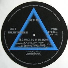 TURNTABLE FELT - FEUTRINE - The Dark Side Of The Moon