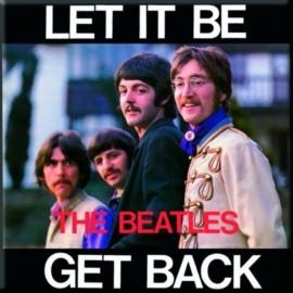 BEATLES (the) - MAGNET : Let It Be  Get Back