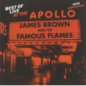 JAMES BROWN : CD Best Of Live At The Apollo : 50th Anniversary