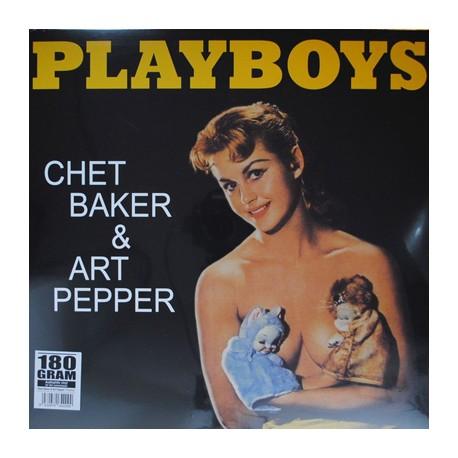 BAKER Chet / PEPPER Art : LP Playboys