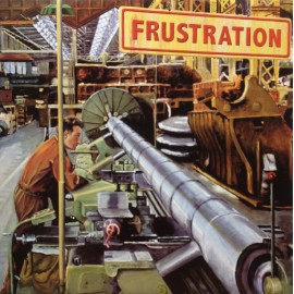 "FRUSTRATION : 12""EP Full Of Sorrow"