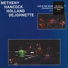 METHENY Pat/HANCOCK Herbie/HOLLAND Dave/DEJOHNETTE Jack : LP Live At The Academy Of Music - Philadelphia June 23rd 1990