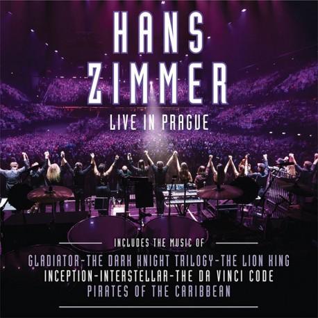 ZIMMER Hans : LPx4  Live In Prague