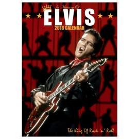 PRESLEY Elvis - 2018 Calendar Unofficial