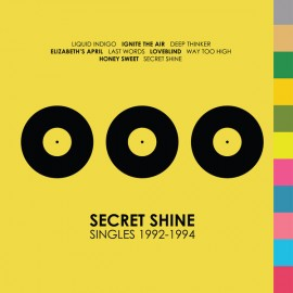 SECRET SHINE : LP Singles 1992-1994 (colored)