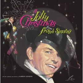FRANK SINATRA : LP Picture A Jolly Christmas From Frank Sinatra