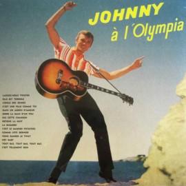 HALLYDAY Johnny : LP Johnny A L'Olympia
