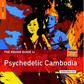 VARIOUS : LP The Rough Guide To Psychedelic Cambodia