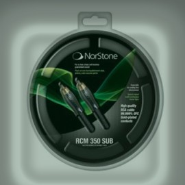 NORDSTONE CABLE RCM 350 For Coaxial Subwoofer
